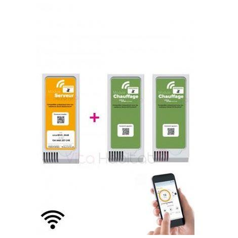 Kit de démarrage Gris Modules Smart ECOcontrol AIRELEC - A692666