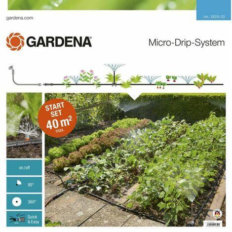 Kit de démarrage pour surface plantée GARDENA Micro-Drip System 13015-20 Ø 13 mm (1/2) 25 m
