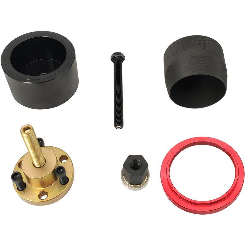 Kit de demontage et d'installation de joint d'huile de vilebrequin avant pour moteurs BMW N20 N26, modele?: noir 57