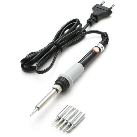 Kit de fer à souder électrique 220 V 60 W soudure de température réglable 220 V norme européenne