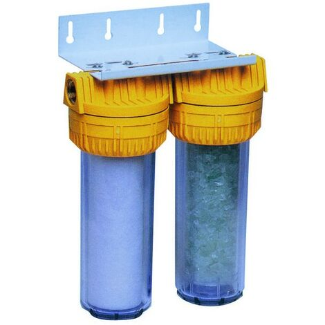"""Kit de filtration + antitartre et anti-corrosion Purophos - 25µ - 3/4"""" - 8 bars"""