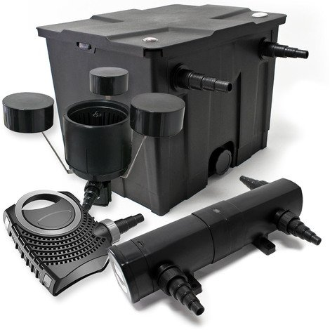 kit de filtration bassin bio 12000l st rilisateur uvc 36w. Black Bedroom Furniture Sets. Home Design Ideas