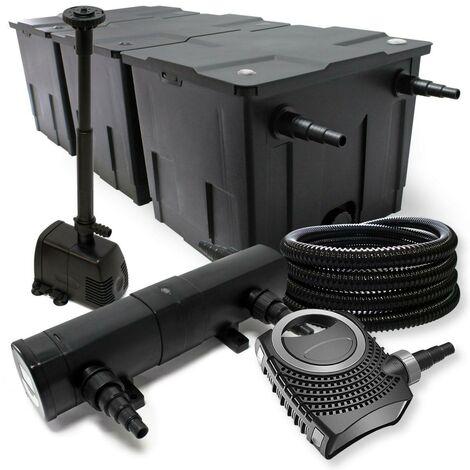 Kit de filtration biologique 18w bassin 90000 L + pompe fontaine