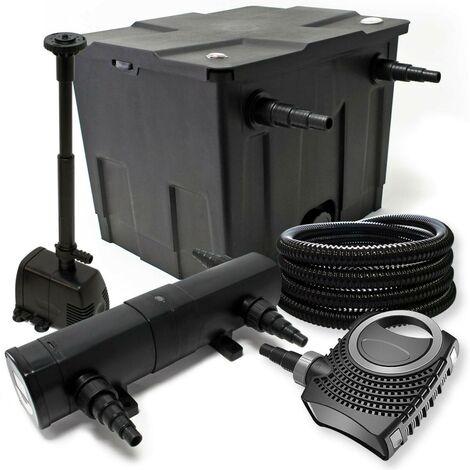 Kit de filtration biologique uvc 18w bassin 12000 L + pompe fontaine