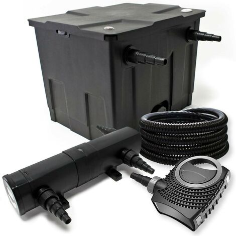 Kit de filtration biologique uvc 36w bassin 12000 L max + tuyau