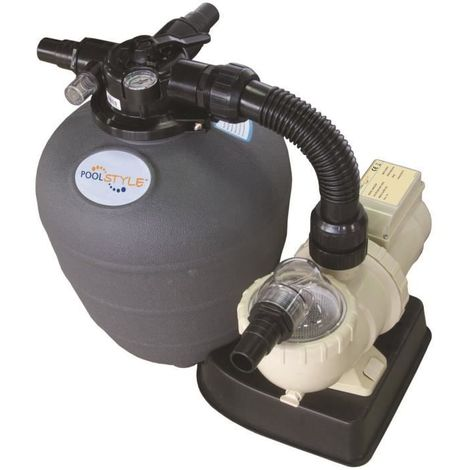 Kit de filtration POOLSTYLE 6m3/h