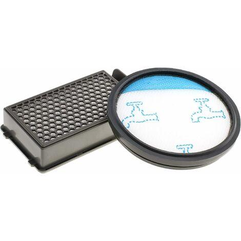 Kit de filtro de aspiradora Hepa para aspiradoras ciclónicas Rowenta Compact Power como RO3731EA, RO3724EA, RO3753EA, RO3786EA, RO3798EA, RO3718EA, RP3721EA, filtros como ZR005901