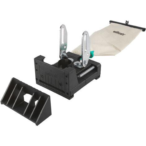 Kit de Fraisage à Lamelles pour Meuleuse + Fraise CT 100 mm - wolfcraft 2920000