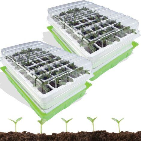kit de germination 40 godets lot X2