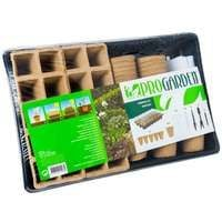 Kit de germination avec pot+acc 67pcs
