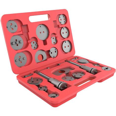 Tama/ño de la caja: 50 x 39 x 12 cm con estuche roja Juego de Abrazaderas de Compresor Todeco Kit Compresor de Muelles de Amortiguadores 8 Partes Material: Acero C45