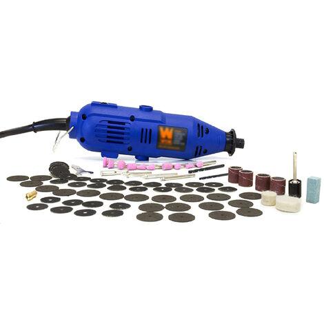 Kit de herramientas de rotacion de velocidad variable de 100 piezas, cortador de amoladora rotativa