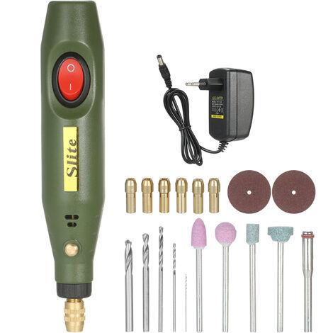 Kit de herramientas rotativas electricas portatiles KKmoon,Mini herramienta amoladora