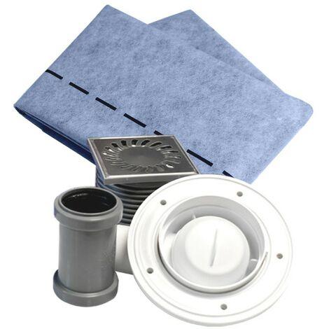 Kit de lámina textil no tejida impermeabilizante para duchas Lamiflex TECNOL