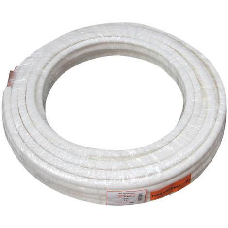 Kit de liaison frigorifique 1/4-1/2 longueur 20m