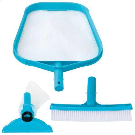 Kit de limpieza básico INTEX recoge hojas, cepillo y cabezal