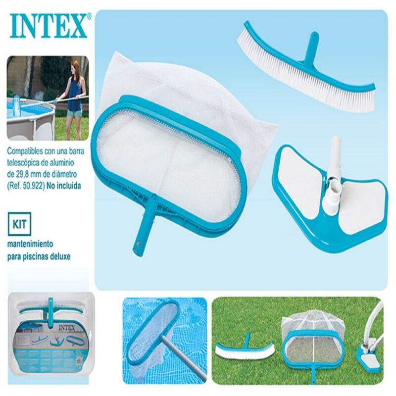 Intex - Jardín - Kit de Limpieza Deluxe