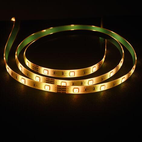 "main image of ""Kit de luces de tira LED WIFI, tira de luz inteligente RGB de 5 m / 16,4 pies de longitud"""