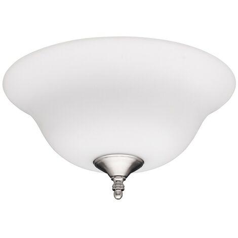 Kit de luz Frosted Opal 24126 para ventiladores de techo Hunter