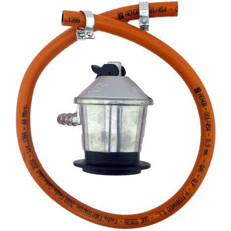 KIT de manguera y regulador para butano de 0.7m