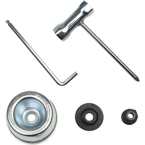 Kit de mantenimiento de accesorios para desbrozadoras, para desbrozadora STIHL FS120 FS200 FS250