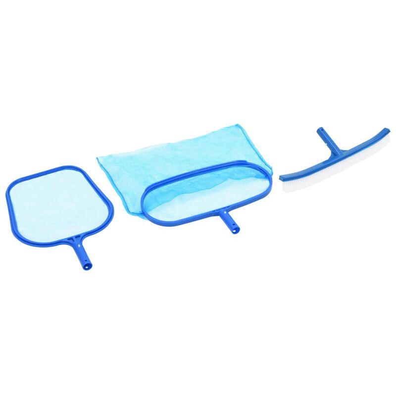 Kit de mantenimiento de piscina 3 piezas - Multicolor