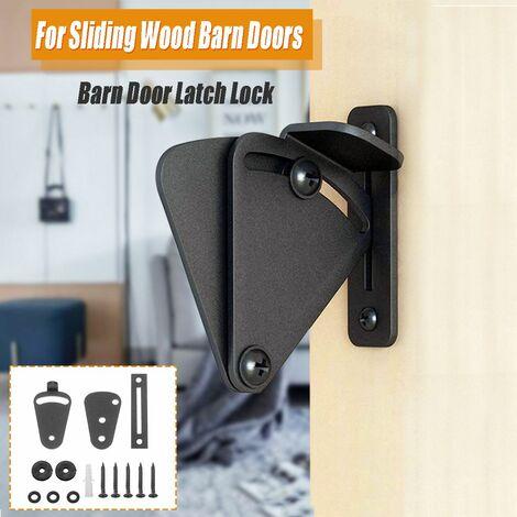 Kit de matériel de bricolage pour serrure de porte en bois