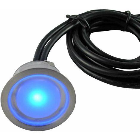Kit de Mini Spot LED Encastrable 0,5W RGB Multicolore