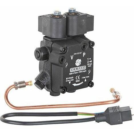 Kit de montage pompe fuel Suntec AT2 45C avec tuyau de refoulement fuel Electro-Oil 58475