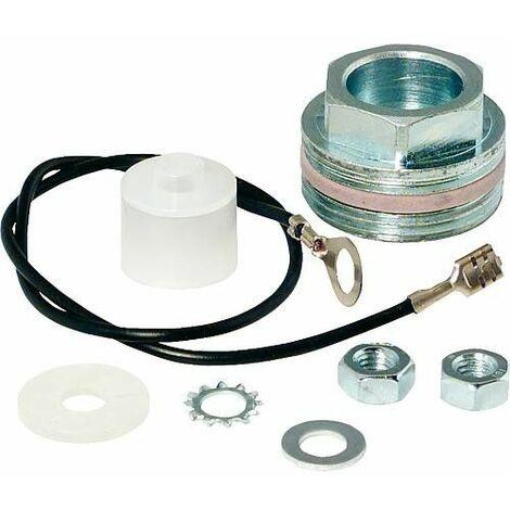 Kit de montage pour montage isolé anode magnesium avec filetage 8 mm 1 1/4 raccord manchon à visser