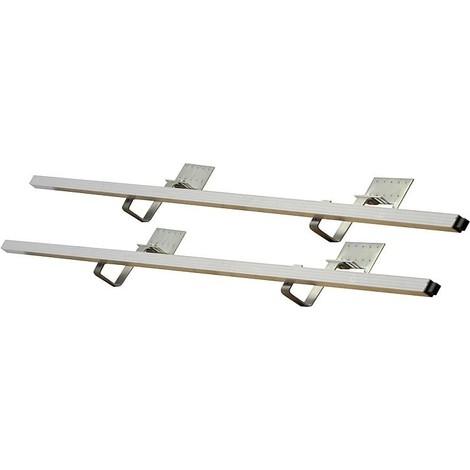 Kit de montage sur toiture stand pente à 25°extension pour 1 cap. tubes sous vide