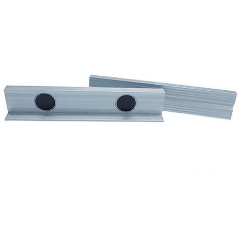 Kit de mors magnétiques aluminium L. 150 mm - MSB150AL - Holzmann - -