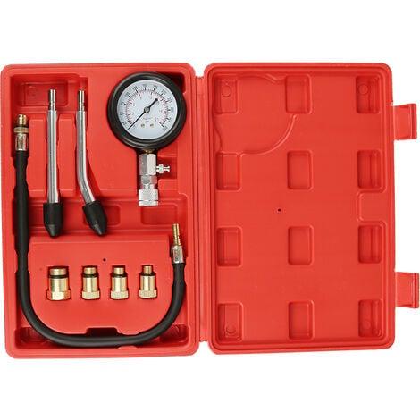 Kit De Outil Auto Moteur Testeur De Compression Pression De Cylindre De Diesel Table