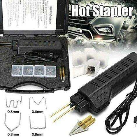 Kit de Pare-chocs Chaud Agrafeuse Plastique de Soudage Soudeur Dent Repair Voiture, Carrosserie Fender Carénage Réparation Machine,d'agrafes chaud de HPW, machine de soudure plastique d'agrafe de PVC