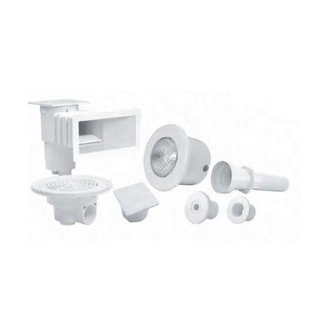 Kit de pièces à sceller Vitalia Liner blanc AQUALUX - bassin 7x3 - 105873