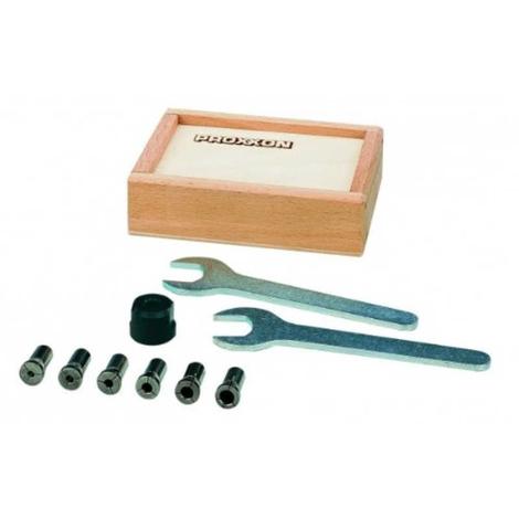 Kit de pinzas de fijación para taladro de mesa TBH Proxxon