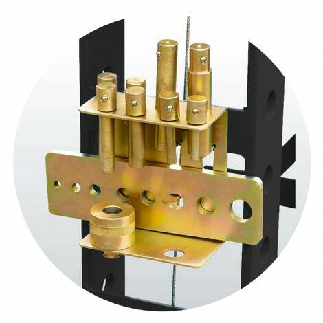 Kit de poinçons pour presses hydrauliques
