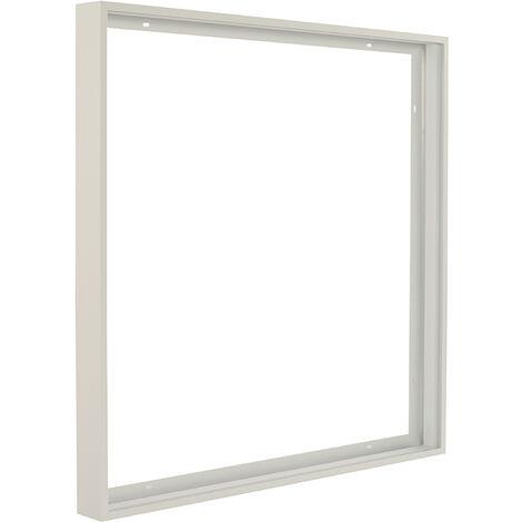 Kit de pose en saillie pour dalle led 600x600 blanc