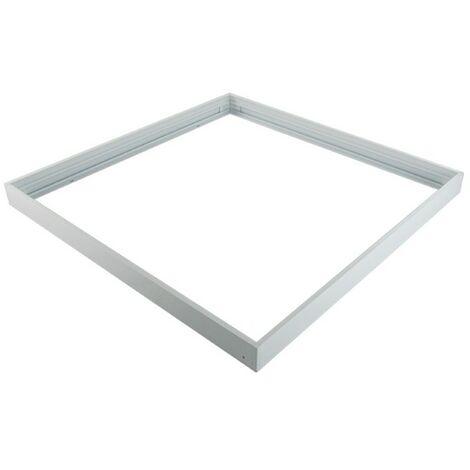 Kit de pose en saillie pour dalles led 600x600 ALU blanc