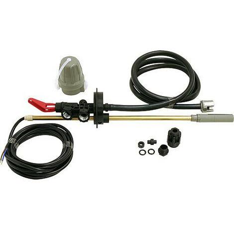 Kit de preleve. pour double robinetterie Reservoir Dehoust PE etTrio 1000- 2000 l avec tube 8x1x755mm