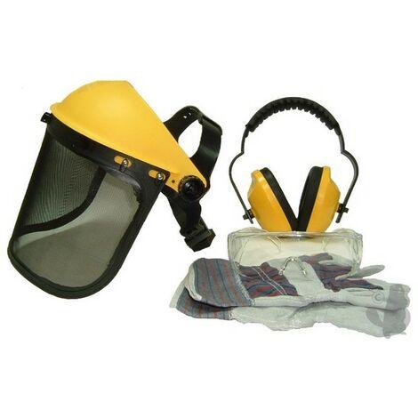 Kit de protection tronçonneuse et débroussailleuse