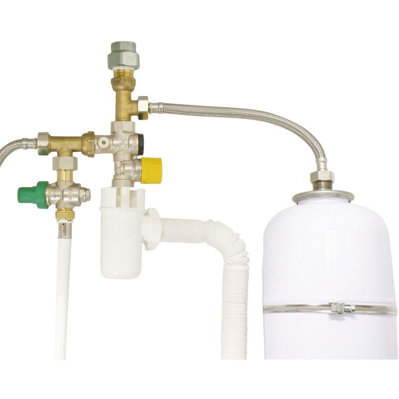 SOMATHERM FOR YOU Kit de raccordement pour vase dexpansion sanitaire CKITV
