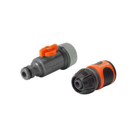 Kit de raccordement pour tuyau micro-poreux 1989-20 GARDENA
