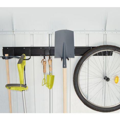 Kit de rangement modulable KEEPTOOL pour abris de jardin ou garage