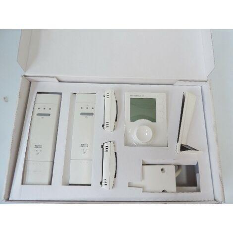 Kit de régulation 2 zones 3 récepteurs radio pour planchers et radiateurs à eau-chaude DELTA300 BBC DELTA DORE 6050563