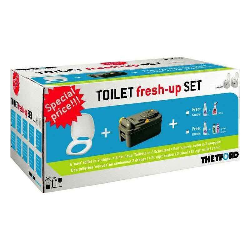 KIT de rénovation WC cassettes pour C250 / C260 pour caravane et camping-car