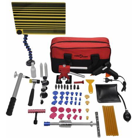 Kit de reparar abolladuras de coche con bolsa de transporte XXL