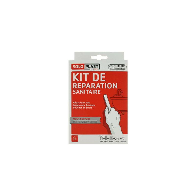 Kit De Reparation Ceramique Email Acrylique Soloplast Blanc Pur 156625