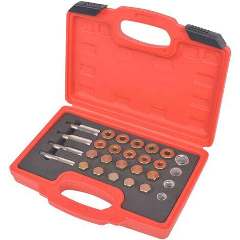 Kit de réparation de bouchon de vidange d'huile 64 pcs