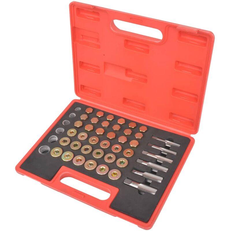 Youthup - Kit de réparation de filetage de bouchon de vidange d'huile